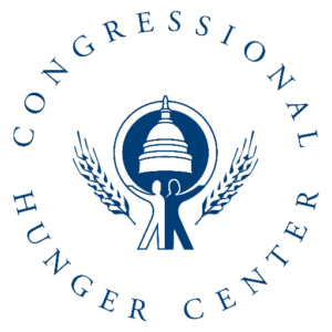 Congressional Hunger Center wants to continue working towards a world without hunger and poverty. Their mission is to help develop, inspire, and connect leaders, and advocate public policies that create a food secure world.