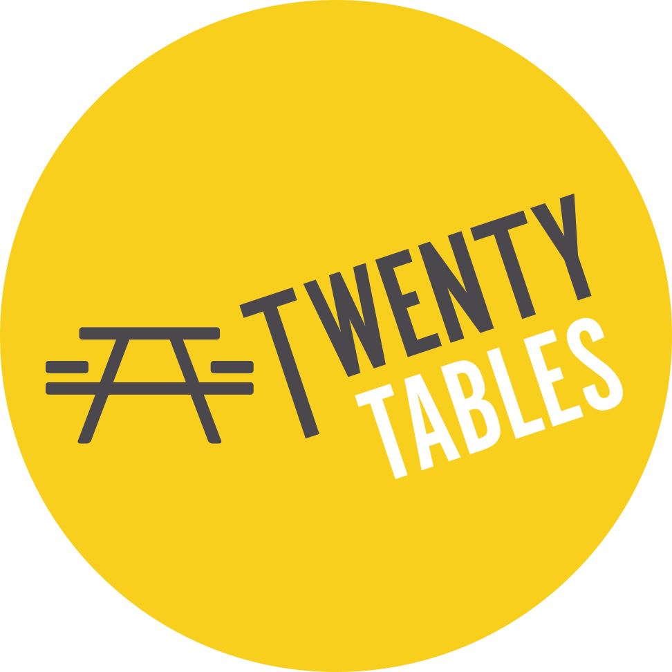 TwentyTables provides affordable and easy meals through a mobile restaurant platform that enables customers to schedule and order dine-in or take-out as little as $6. For every twenty meals ordered, they donate five meals.