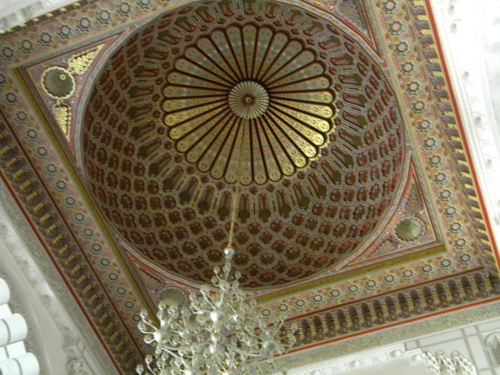 Interior dome in local mosque