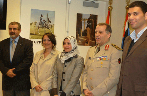LFP Fellows meet Egyptian Defense Attache