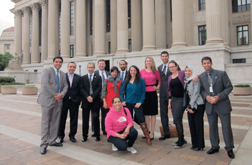 LFP Fellows touring DC
