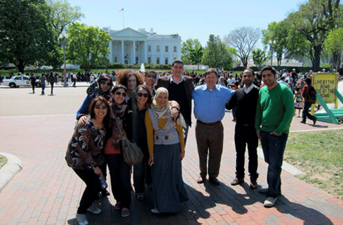 LFP Legislative Fellows Program arrive in US
