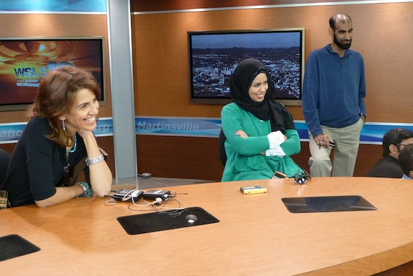 Mashael, Saara, and Abdullah at WSLS10