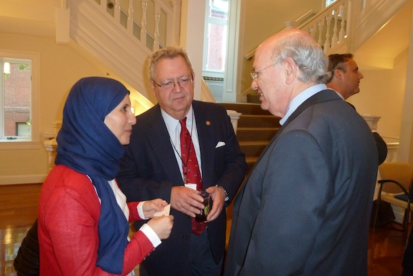 Mariam Al-Shemail meets her mentor