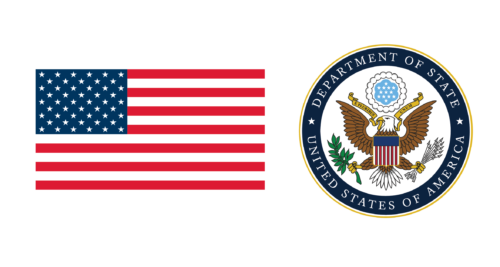 This image has an empty alt attribute; its file name is DOS-Seal-and-Flag-500x267.png